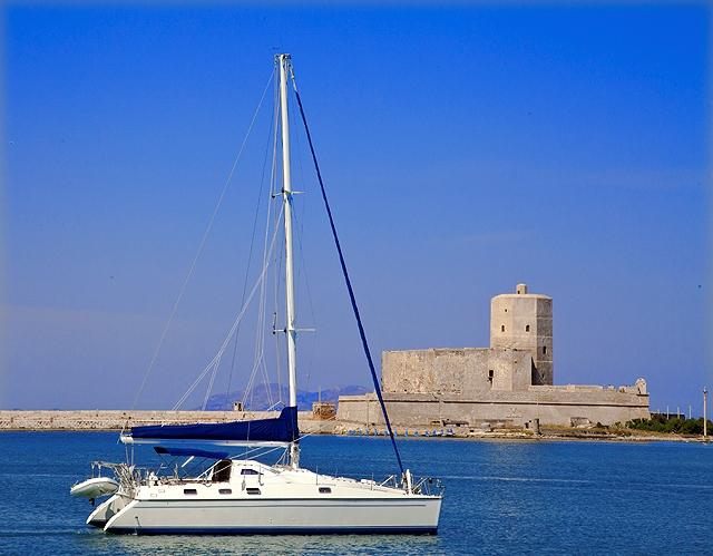 Favignana in catamarano Luxury