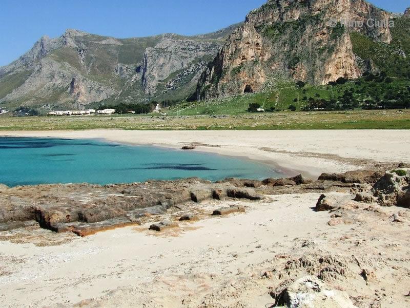 Spiaggia Rina Makari, Baia Santa Margherita nel Comune di San Vito Lo Capo